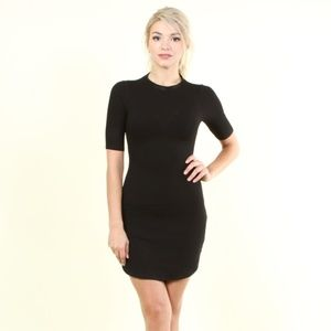 Skyla Scooped Side Knit Dress